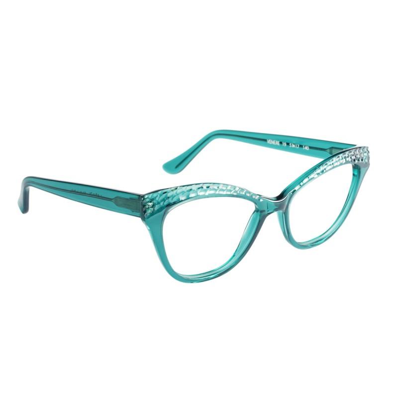afe355d48a Monturas para gafas graduadas de la marca Lara D fabricadas en acetato con  diseño ojo de gato.