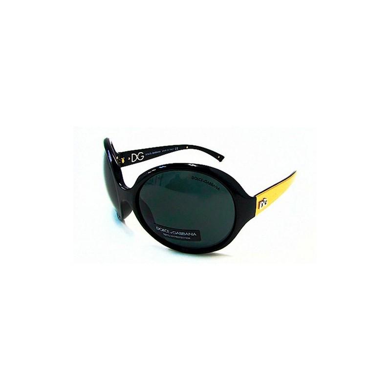 b180ea741c Gafas de sol marca Dolce Gabbana para mujer con monturas de acetato en  negro y dorado, visagras con detalle de logo y lentes gris neutro que te  permitirán ...